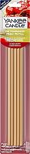 Parfüm, Parfüméria, kozmetikum Aromapálcika - Yankee Candle Black Cherry Pre-Fragranced Reed Refill