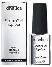 Parfüm, Parfüméria, kozmetikum Fedő gél lakk - Kinetics Top Coat Solar Gel Up To 10 Days