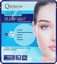 Parfüm, Parfüméria, kozmetikum Szövetmaszk arcra, tisztító - Qiriness Wrap Purifiant Mask