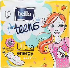 Parfüm, Parfüméria, kozmetikum Egészségügyi betét For Teens Ultra Energy, 10 db - Bella