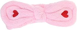 Parfüm, Parfüméria, kozmetikum Kozmetikai fejpánt, rózsaszín - Lash Brow Cosmetic SPA Band