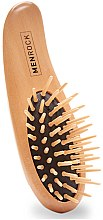 Parfüm, Parfüméria, kozmetikum Fa szakál fésű - Men Rock Beard Brush