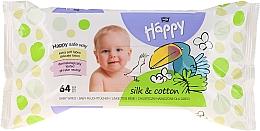 """Parfüm, Parfüméria, kozmetikum Nedves törlőkendő """"Selyem és pamut"""" - Bella Baby Happy Silk & Cotton"""
