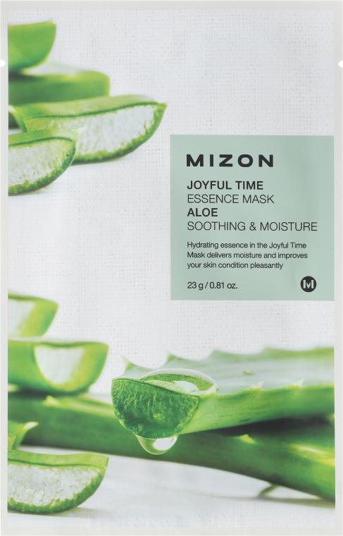 Aloe szövetmaszk - Mizon Joyful Time Essence Mask Aloe