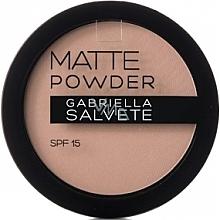Parfüm, Parfüméria, kozmetikum Mattító púder - Gabriella Salvete Matte Powder SPF15