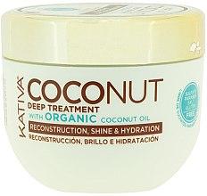 Parfüm, Parfüméria, kozmetikum Helyreállító hajpakolás - Kativa Coconut Oil Mask