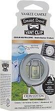 Parfüm, Parfüméria, kozmetikum Folyékony autóillatosító - Yankee Candle Smart Scent Vent Clip Clean Cotton