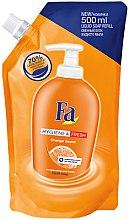 """Parfüm, Parfüméria, kozmetikum Folyékony szappan """"Tisztaság és frissesség. Narancs"""" - Fa Hygiene & Freshness Orange Scent Soap (utántöltő)"""