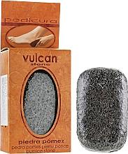 Parfüm, Parfüméria, kozmetikum Habkő, 98x58x37mm, Dark Grey - Vulcan Pumice Stone
