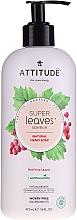 "Parfüm, Parfüméria, kozmetikum Hab-szappan ""Piros szőlő levelek"" - Attitude Natural Red Vine Leaves Foaming Hand Soap"