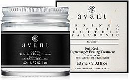 Parfüm, Parfüméria, kozmetikum Feszesítő és erésítő krém arcra és nyakra - Avant Skincare Full Neck Tightening and Firming Treatment