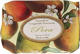 """Parfüm, Parfüméria, kozmetikum Illatosított szappan """"Körte"""" - Saponificio Artigianale Fiorentino Pear"""