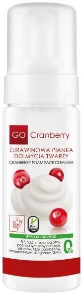 Mosakodó hab vörösáfonyával - GoCranberry