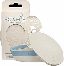 Parfüm, Parfüméria, kozmetikum Környezetvédő utazó csomagolás szilárd samponra és kondicionálóra - Foamie Travel Buddy with Removable Shelf