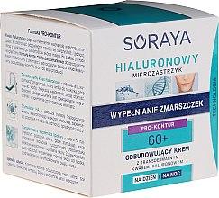 Parfüm, Parfüméria, kozmetikum Regeneráló arckrém nappal/éjszaka - Soraya Hialuronowy Mikrozastrzyk Restorative Cream 60+