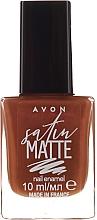 Parfüm, Parfüméria, kozmetikum Körömlakk - Avon Nail Style Studio Mark Satin Matte Nail Enamel Polish