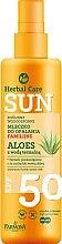 Parfüm, Parfüméria, kozmetikum Vízálló napozó tej - Farmona Herbal Care Sun SPF 50