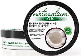 Parfüm, Parfüméria, kozmetikum Testápoló olaj - Naturalium Coconut Extra Nourishing Body Butter