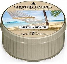 Parfüm, Parfüméria, kozmetikum Tea illatgyertya - Country Candle Life's A Beach Daylight