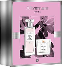 Parfüm, Parfüméria, kozmetikum Allvernum Cherry Blossom & Musk - Szett (edp/50ml + candle/100g)