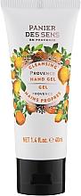 "Parfüm, Parfüméria, kozmetikum Kéztisztító gél ""Provence"" - Panier des Sens Provence Cleansing Hand Gel"