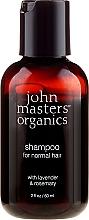 "Parfüm, Parfüméria, kozmetikum Sampon ""Levendula és rozmaring"" - John Masters Organics Lavender Rosemary Shampoo (mini)"
