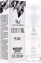 Parfüm, Parfüméria, kozmetikum Természetes gyöngyös szemkrém - SM Collection Crystal Pearl Eye Cream