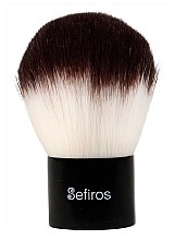Parfüm, Parfüméria, kozmetikum Kabuki ecset - Sefiros Black & White Kabuki Brush