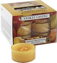 Parfüm, Parfüméria, kozmetikum Tea illatgyertya - Yankee Candle Scented Tea Light Candles Mango Peach Salsa