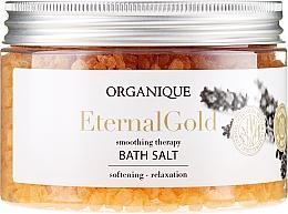 """Parfüm, Parfüméria, kozmetikum Relaxáló fürdősó """"Eternal Gold"""" - Organique"""