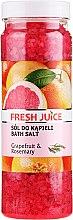 Parfüm, Parfüméria, kozmetikum Fürdősó - Fresh Juice Grapefruit and Rosemary
