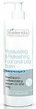 Parfüm, Parfüméria, kozmetikum Hidratáló és frissítő láb- és sarokbalzsam - Bielenda Professional Foot Program