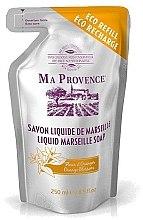"""Parfüm, Parfüméria, kozmetikum Folyékony Marseille szappan talpas tasakban """"Narancs"""" - Ma Provence Liquid Marseille Soap Orange"""