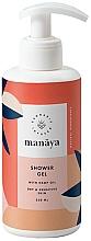 Parfüm, Parfüméria, kozmetikum Tusfürdő kender olajjal - Manaya Shower Gel With Hemp Oil