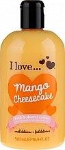 Parfüm, Parfüméria, kozmetikum Tusoló fürdő géles olaj - I Love... Mango Cheesecake Bath And Shower Cream