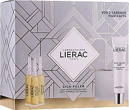 Parfüm, Parfüméria, kozmetikum Készlet - Lierac Cica-Filler (serum/30ml + cr/gel/40ml + bag)