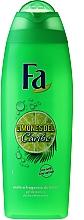 "Parfüm, Parfüméria, kozmetikum Tusfürdő ""Karibi citrom"" - Fa Caribbean Lemon Shower Gel"
