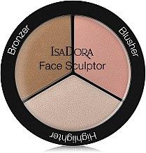 Parfüm, Parfüméria, kozmetikum Kontúrozó paletta - IsaDora Face Sculptor