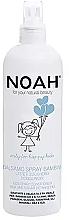 Parfüm, Parfüméria, kozmetikum Gyerek spray-kondicionáló hajra - Noah Kids Spray conditioner milk & sugar detangling
