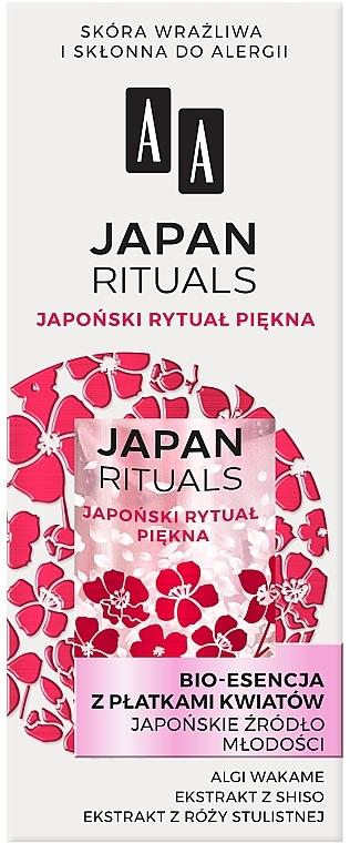 """Bio esszencia virágszirommal """"Japán fiatalság forrása"""" - AA Japan Rituals Bio-Essence"""