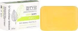 """Parfüm, Parfüméria, kozmetikum Szappan """"Méz és propolisz"""" - Styx Naturcosmetic Basic Soap With Honey-Propolis"""