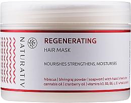 """Parfüm, Parfüméria, kozmetikum """"Helyreállító"""" hajmaszk - Naturativ Regeneration Mask"""