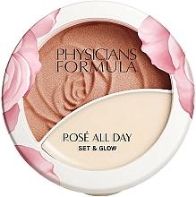 Parfüm, Parfüméria, kozmetikum Púder-balzsam arcra - Physicians Formula Rose All Day Set & Glow