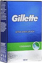 "Parfüm, Parfüméria, kozmetikum Borotválkozás utáni arcvíz ""Cool Wave"" - Gillette Series Cool Wave After Shave Splash for Men"