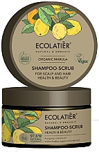 """Parfüm, Parfüméria, kozmetikum Fejbőr hámlasztó sampon """"Egészség és szépség"""" - Ecolatier Organic Marula Shampoo-Scrub"""