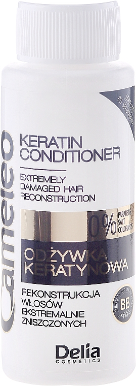 Sómentes keratin kondicionáló - Delia Cameleo Anti Damage Conditioner