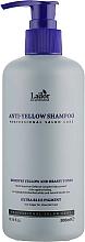 Parfüm, Parfüméria, kozmetikum Sárga tónus elleni sampon - La'Dor Anti Yellow Shampoo