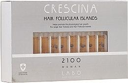 Parfüm, Parfüméria, kozmetikum Hajnövekedést serkentő lotion nőknek 2100 - Crescina Hair Follicular Island 2100 Woman