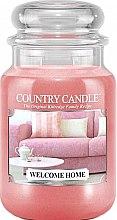 Parfüm, Parfüméria, kozmetikum Illatgyertya üvegben - Country Candle Welcome Home