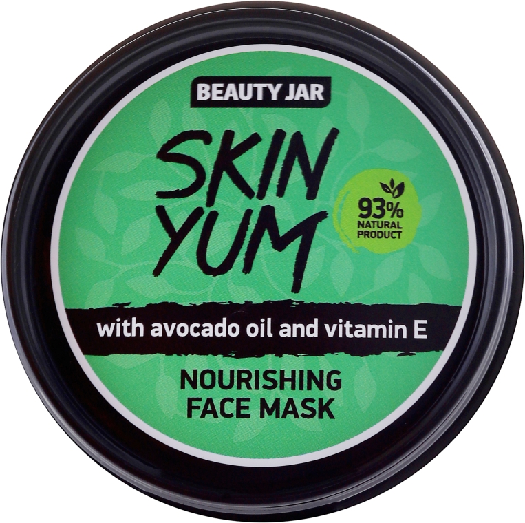 Tápláló arcmaszk - Beauty Jar Skin Yum Nourishing Face Mask